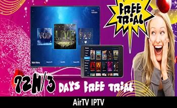 AIRTV IPTV FREE TEST