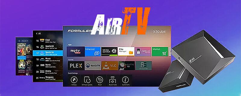 AirTV IPTV on Formuler Z8